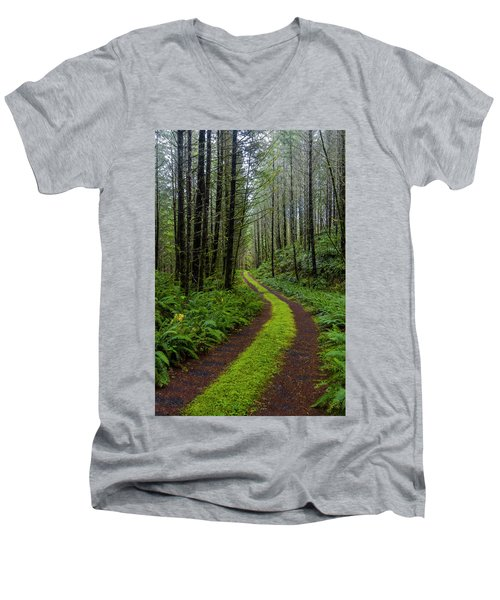 Forgotten Roads Men's V-Neck T-Shirt