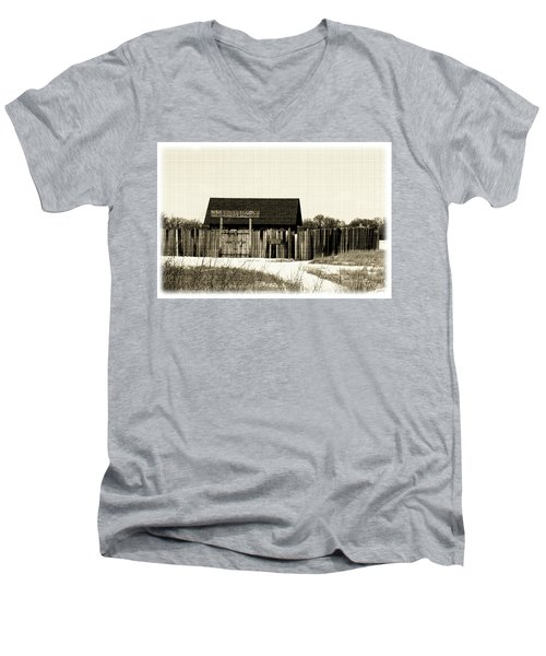 Fort Belmont Men's V-Neck T-Shirt