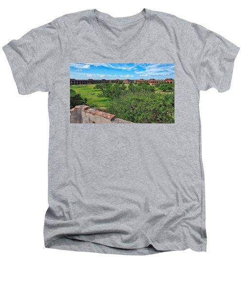 Fort Jefferson Men's V-Neck T-Shirt