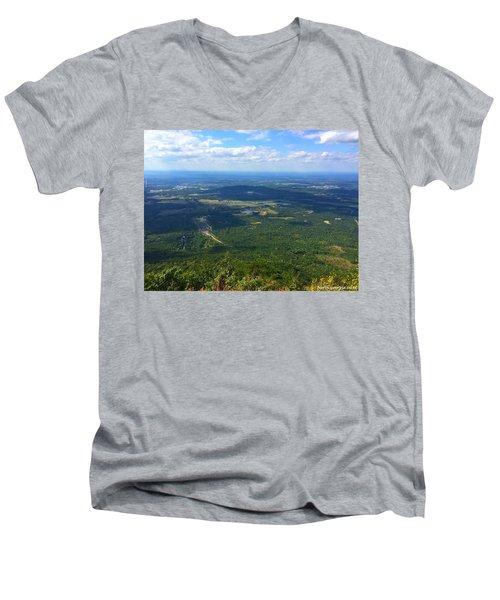 Fort Mountain Men's V-Neck T-Shirt