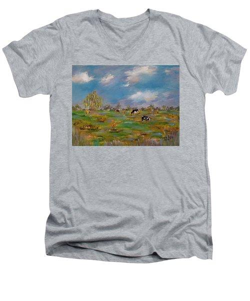Forty Acres Men's V-Neck T-Shirt