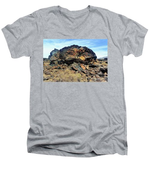 Fossil Falls Men's V-Neck T-Shirt