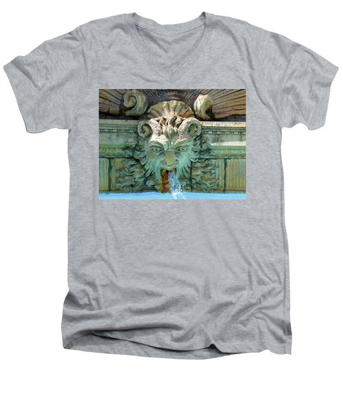 The Fountain Men's V-Neck T-Shirt