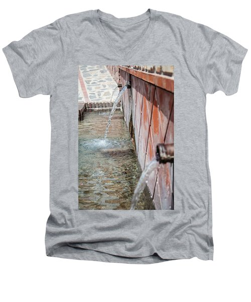 Fountain Men's V-Neck T-Shirt
