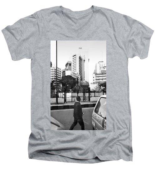 Tinubu Square Environ Men's V-Neck T-Shirt