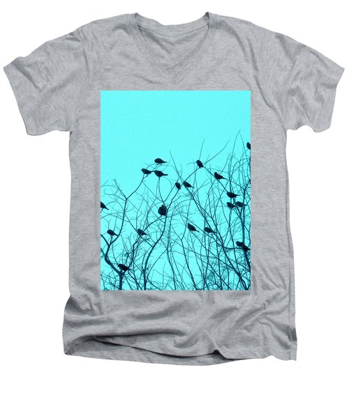 Four And Twenty Blackbirds Men's V-Neck T-Shirt