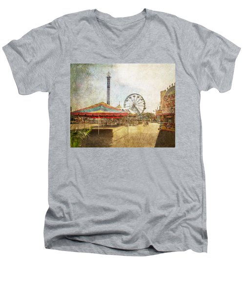 The Ferris Wheel Men's V-Neck T-Shirt