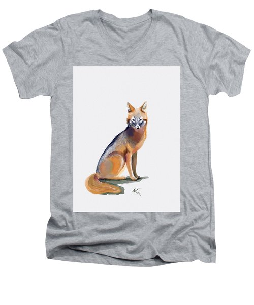 Fox Men's V-Neck T-Shirt
