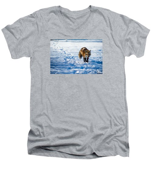 Fox Path Men's V-Neck T-Shirt