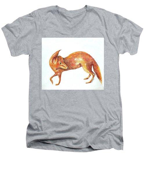 Fox Trot Men's V-Neck T-Shirt