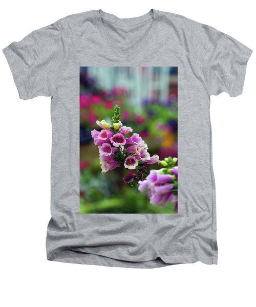 Foxglove 1154 H_2 Men's V-Neck T-Shirt