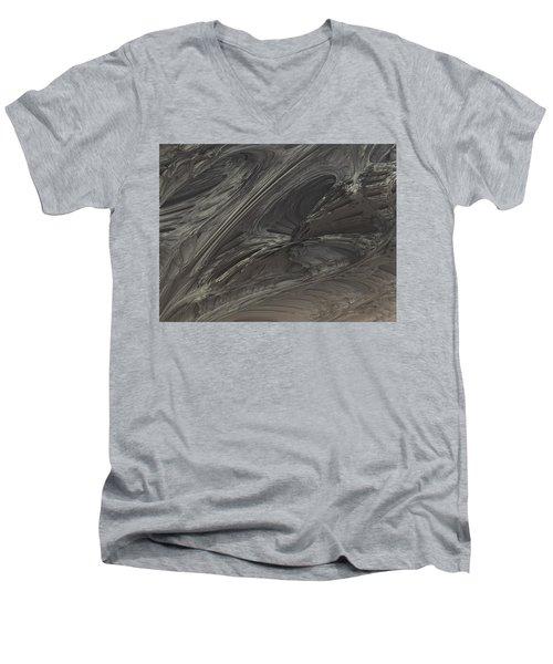 Fractal Structure 004 Men's V-Neck T-Shirt