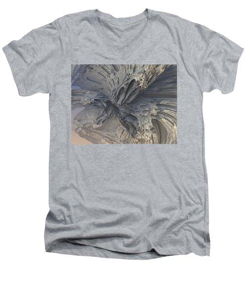 Fractal Structure 006 Men's V-Neck T-Shirt