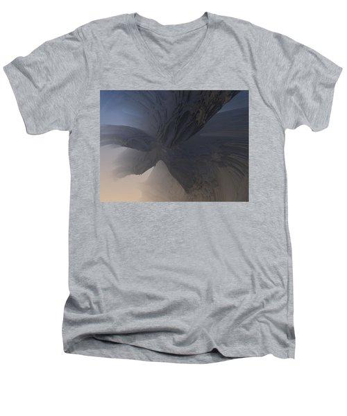 Fractal Structure 007 Men's V-Neck T-Shirt