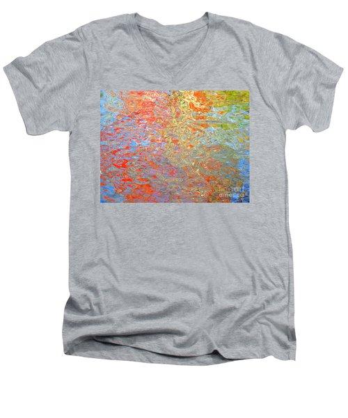 Dimensional Premise Men's V-Neck T-Shirt