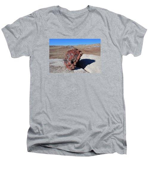 Fragile Survivor Men's V-Neck T-Shirt by Gary Kaylor