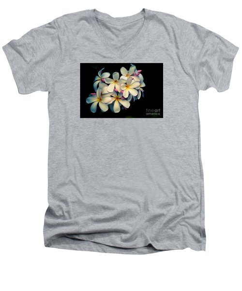 Men's V-Neck T-Shirt featuring the photograph Fragrance by Kelly Wade