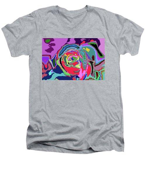 Fragrance Of Color  Men's V-Neck T-Shirt