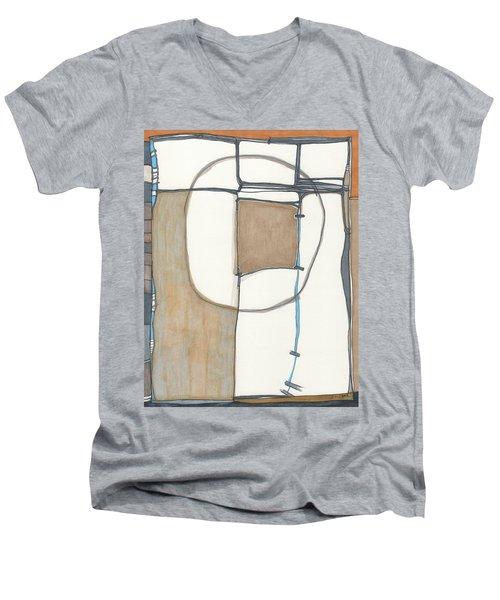 Framed Men's V-Neck T-Shirt by Sandra Church