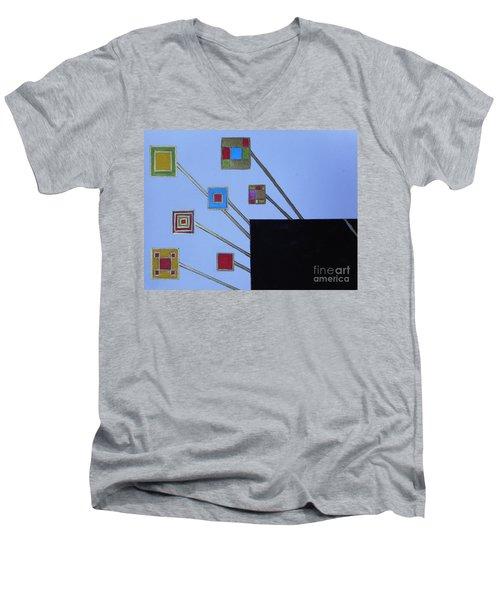 Framed World Men's V-Neck T-Shirt