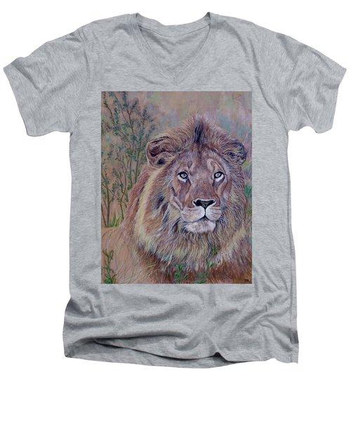 Frank Men's V-Neck T-Shirt