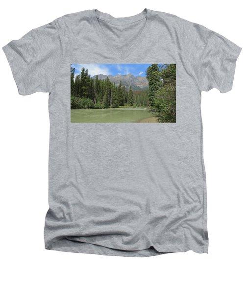 Fraser River Men's V-Neck T-Shirt