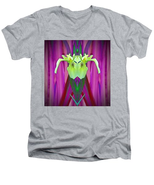 Freaky Iris Men's V-Neck T-Shirt