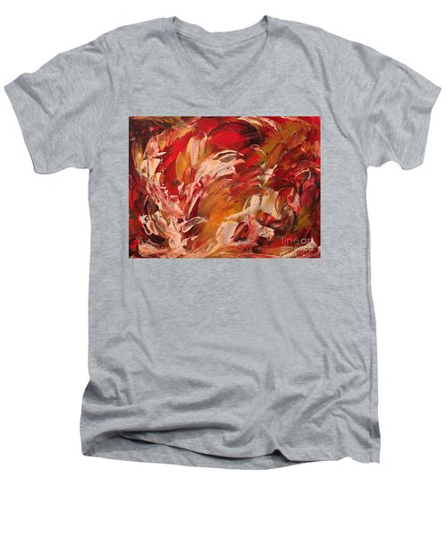 Free Men's V-Neck T-Shirt