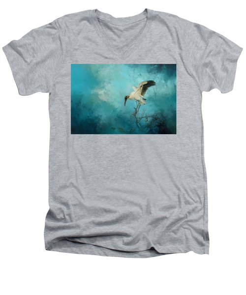Men's V-Neck T-Shirt featuring the photograph Free Will by Marvin Spates