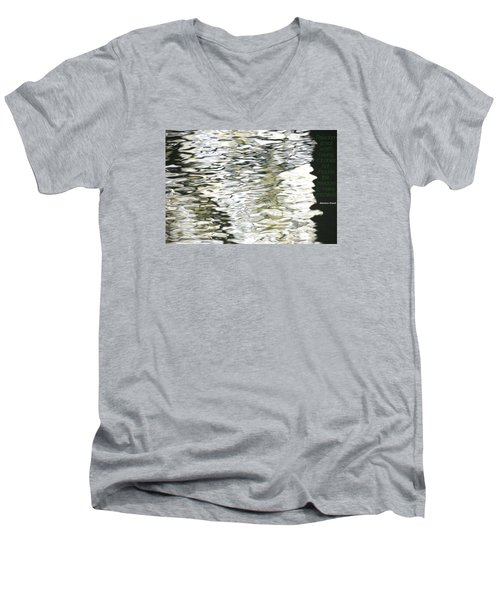 Men's V-Neck T-Shirt featuring the photograph Freedom by David Norman