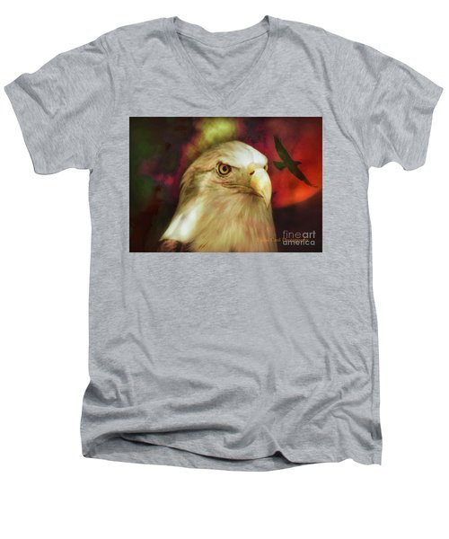 Freedom To Fly Men's V-Neck T-Shirt