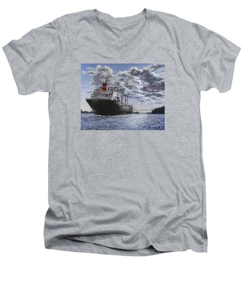 Freighter Inviken Men's V-Neck T-Shirt