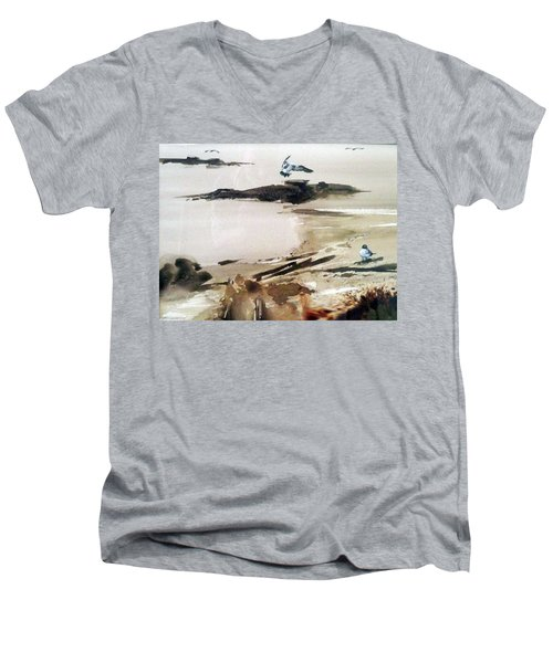 French Lake Men's V-Neck T-Shirt
