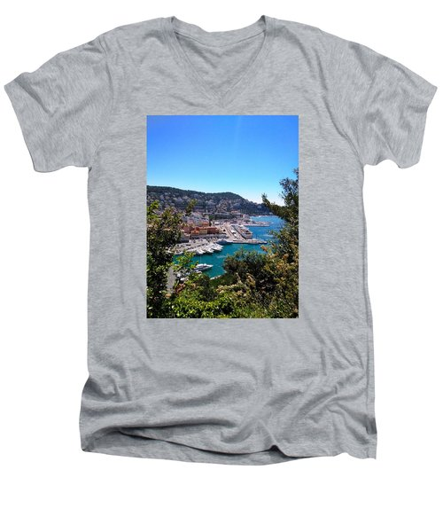French Port Men's V-Neck T-Shirt