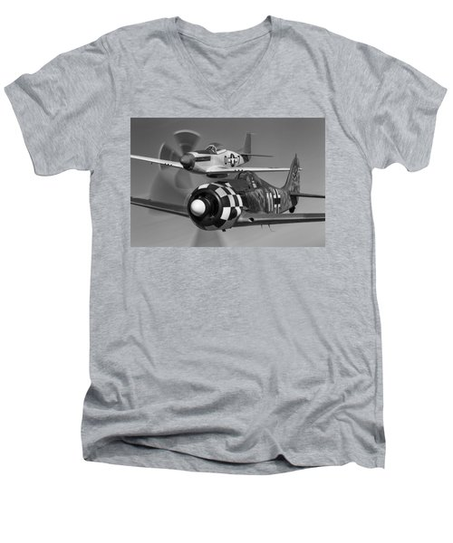 Frenemies II Men's V-Neck T-Shirt