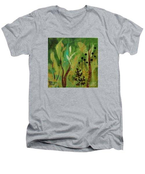 Fresh Air  Men's V-Neck T-Shirt by Robin Maria Pedrero