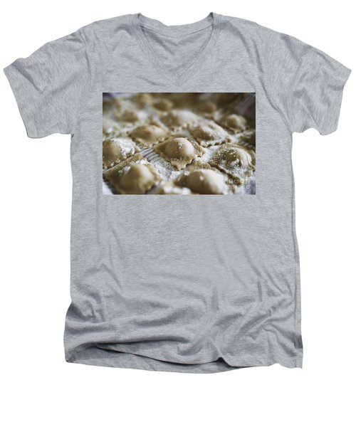 Fresh Homemade Italian Pasta  Men's V-Neck T-Shirt