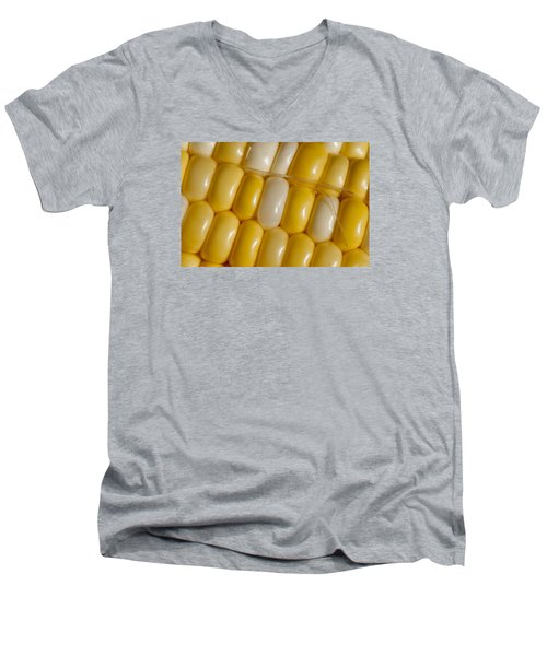 Fresh Yellow Corn Men's V-Neck T-Shirt