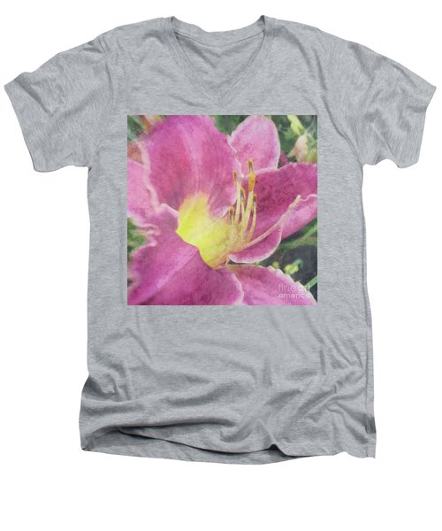 Friends Gather Men's V-Neck T-Shirt