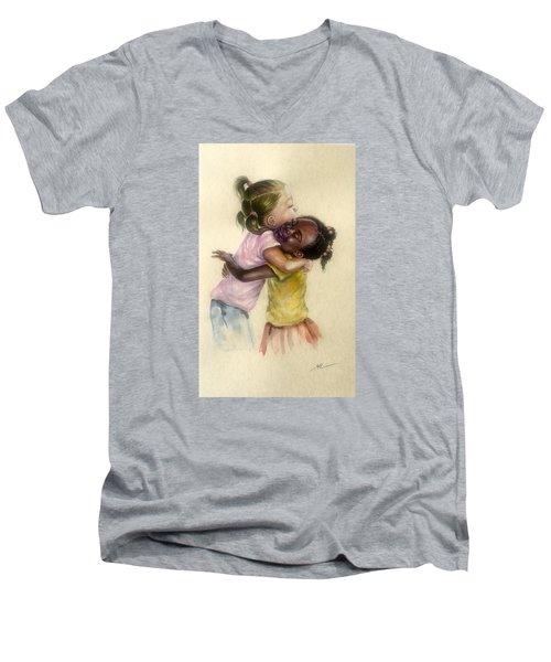 Friendship Men's V-Neck T-Shirt