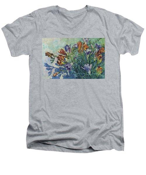 Frishias Men's V-Neck T-Shirt