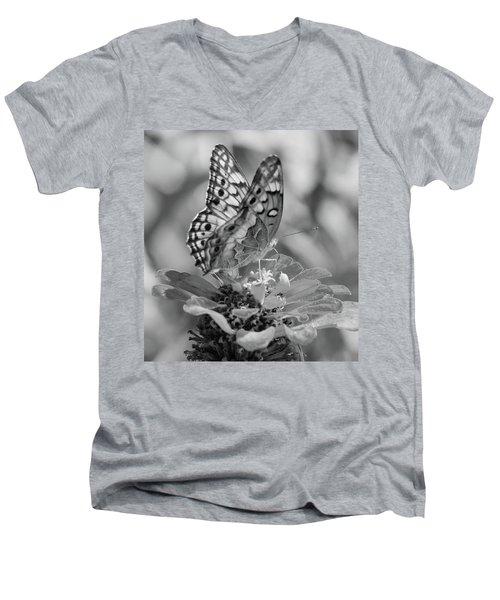 Fritillary Butterfly Men's V-Neck T-Shirt