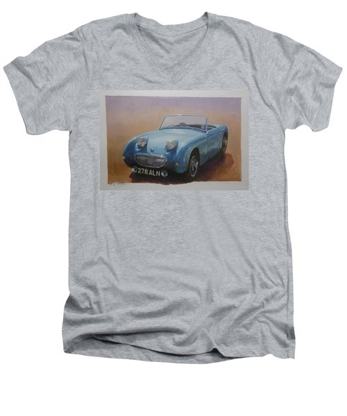 Frogeye  Men's V-Neck T-Shirt