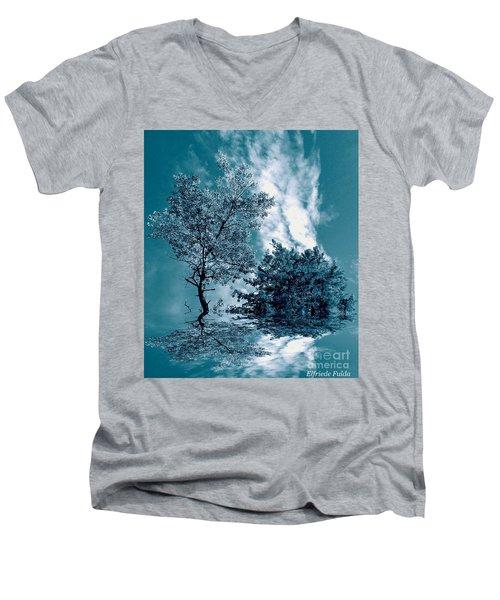 Frollicking Men's V-Neck T-Shirt