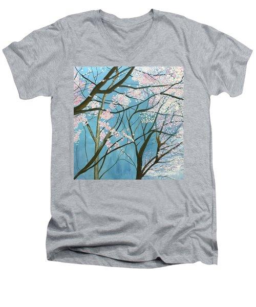 From Lindsay Men's V-Neck T-Shirt