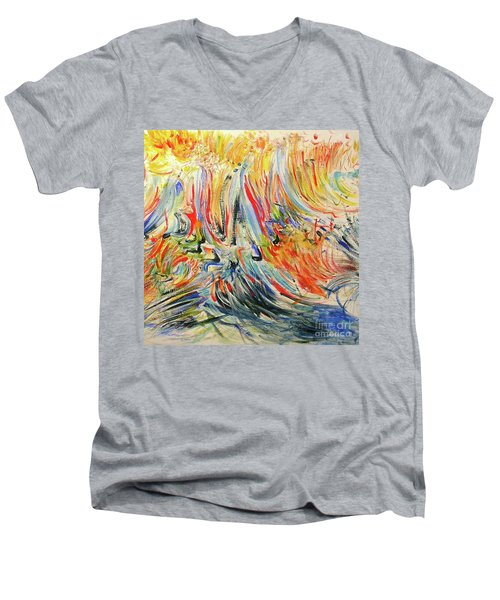 From Soul To Canvas Men's V-Neck T-Shirt