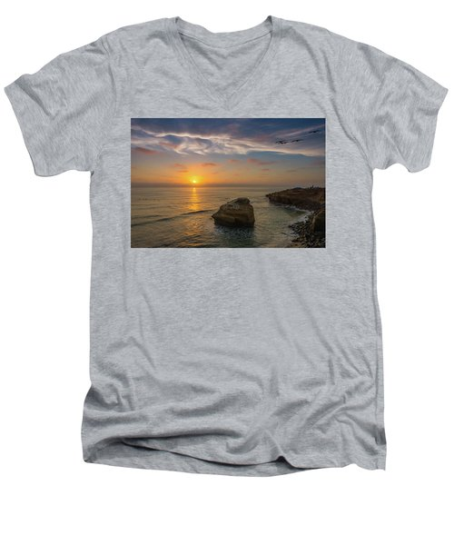 From Surf To Sky Men's V-Neck T-Shirt
