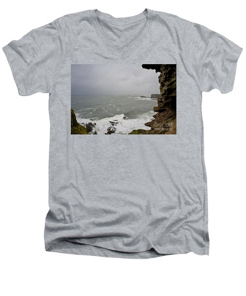 From The Castle Wall Men's V-Neck T-Shirt