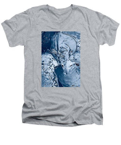 Men's V-Neck T-Shirt featuring the photograph From The Deep by Gary Bridger