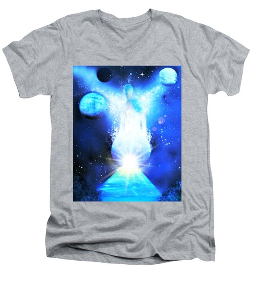 From The Light Men's V-Neck T-Shirt